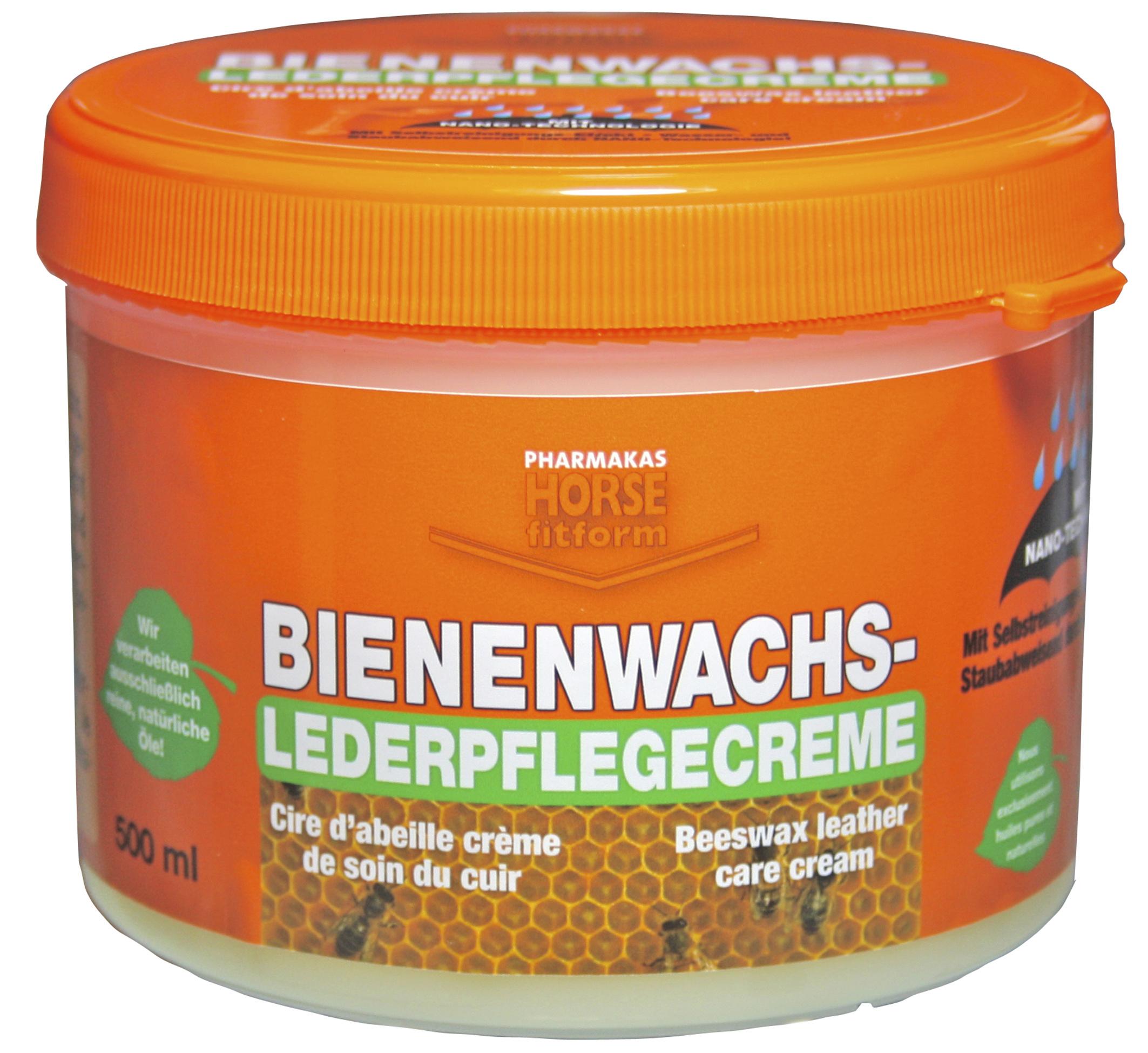 Bienenwachs-Lederpflege- creme 500 ml