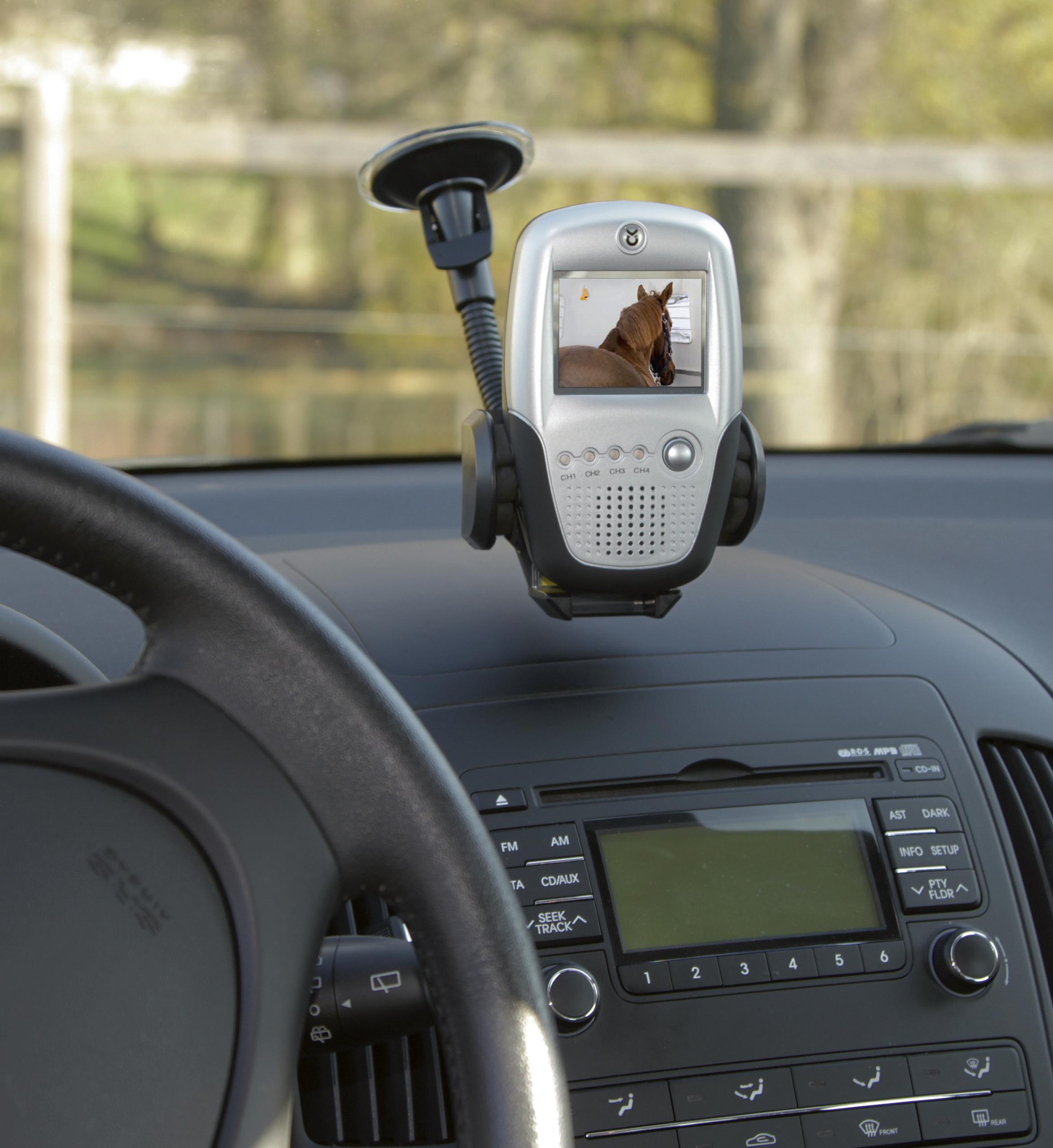 "Anhängerkameraset 2,4 GHz 2,5"" Monitor"